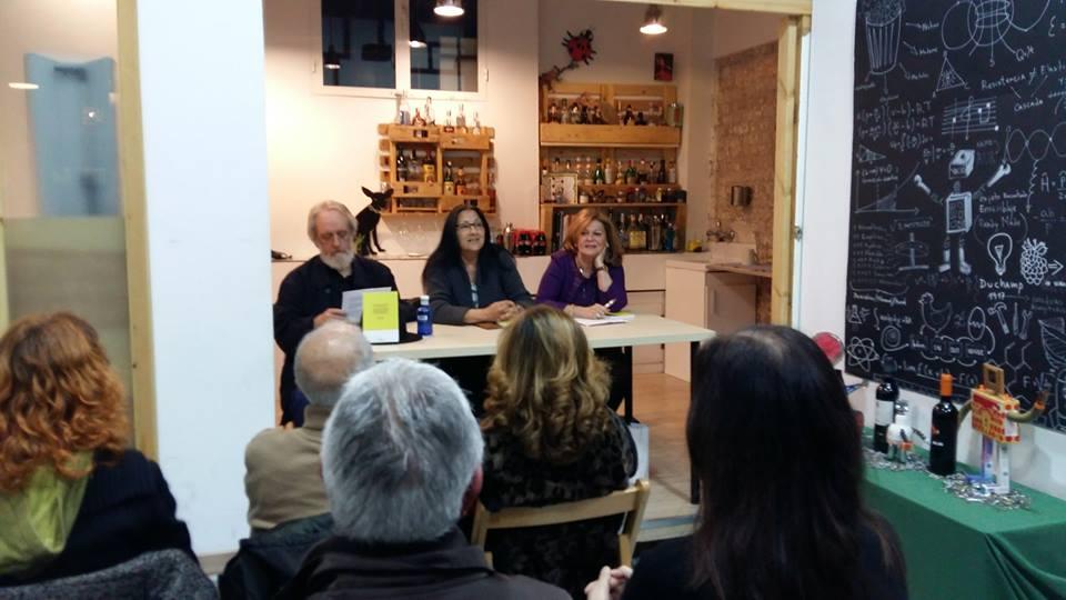"""Presentación en Madrid del poemario de Anna Rossell """"Auschwitz-Birkenau. La pradera de los abedules"""" 1"""