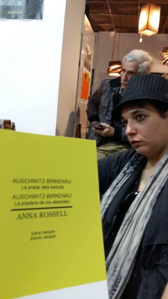 """Presentación en Madrid del poemario de Anna Rossell """"Auschwitz-Birkenau. La pradera de los abedules"""" 3"""