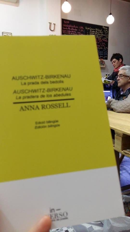 """Presentación en Madrid del poemario de Anna Rossell """"Auschwitz-Birkenau. La pradera de los abedules"""" 4"""
