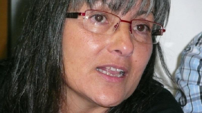La poeta Anna Rossell