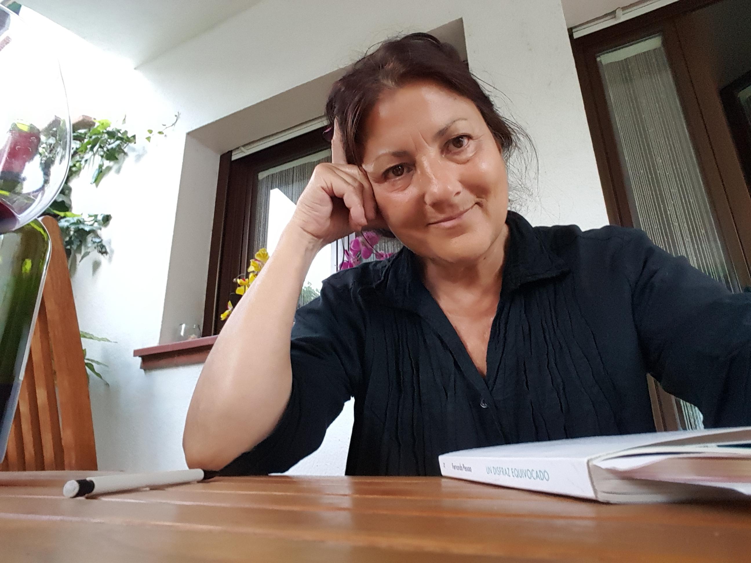 L'escriptora Anna Rossell