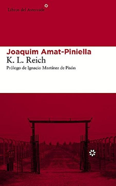 Portada de la novela de Joaquim Amat-Piniella, K. L. Reich
