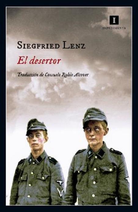 Portada de la novela de Siegfried Lenz, «El desertor»