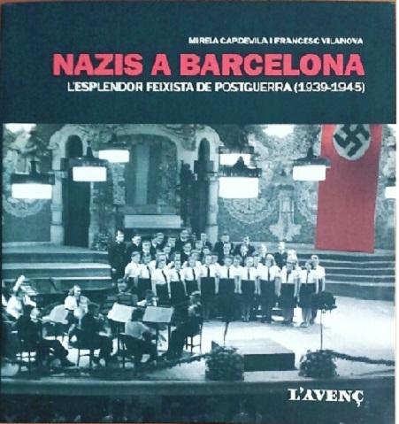 """Portada del llibre """"Nazis a Barcelona"""""""