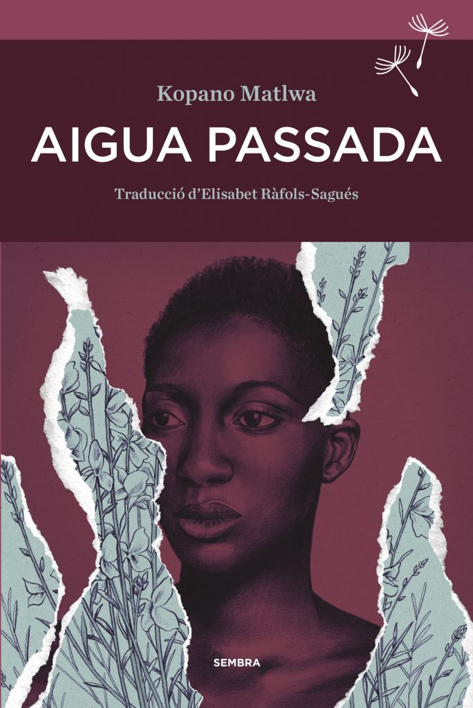 """Portada de la novel·la """"Aigua pasada"""", de Kopano Matlwa"""