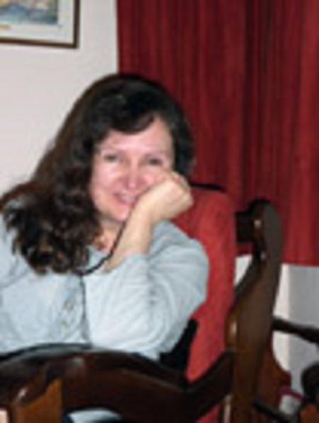 La poeta Carmen Borja