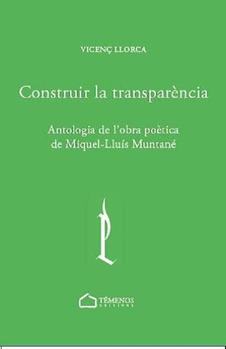 Portada de l'antologia / Portada de la antología «Construir la transparència»