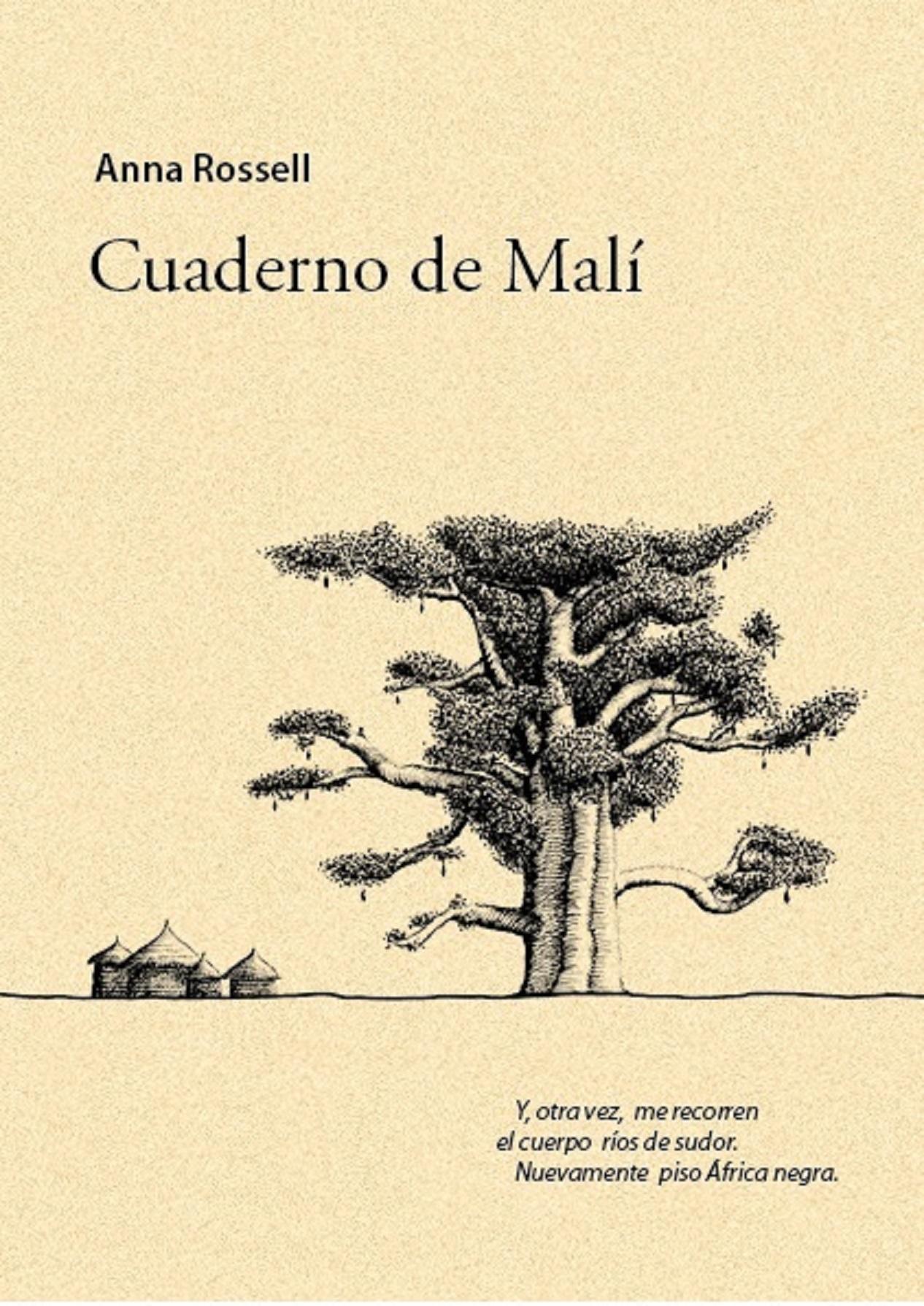 """Portada del poemario """"Cuaderno de Malí"""", de Anna Rossell"""