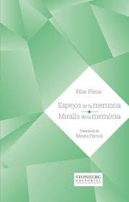 Portada del poemario «Espejos de la memoria/Miralls de la memòria»