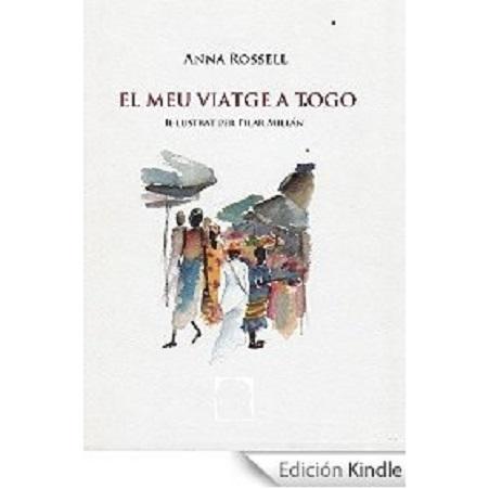 """Portada del llibre de viatges """"El meu viatge a Togo"""", d' Anna Rossell"""