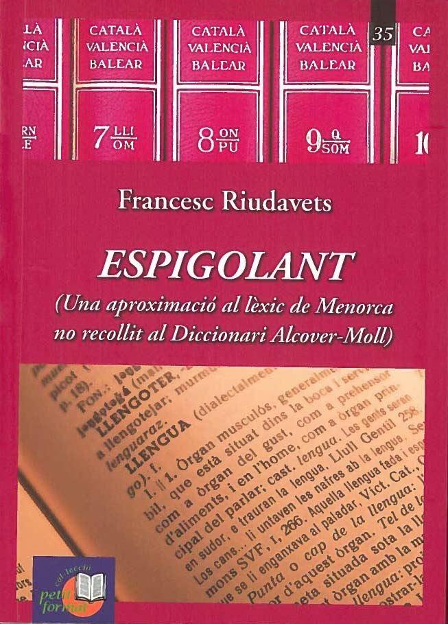 Portada del llibre «Espigolant», de Francesc Riudavets