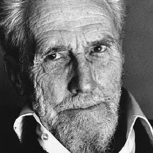 El escritor y poeta estadounidense Ezra Pound