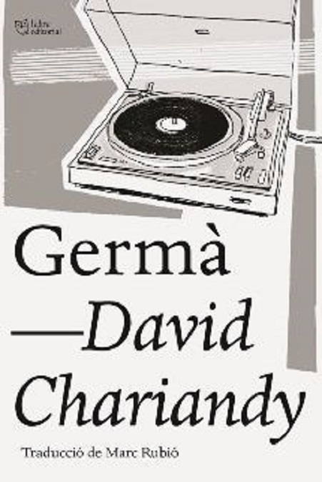 "Portada de la novel·la de David Chariandy, ""Germà"""
