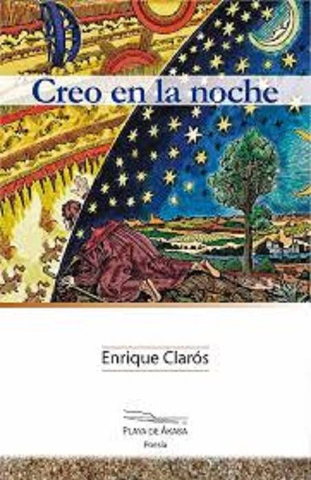 """Portada del poemario """"Creo en la noche"""", de Enrique Clarós"""