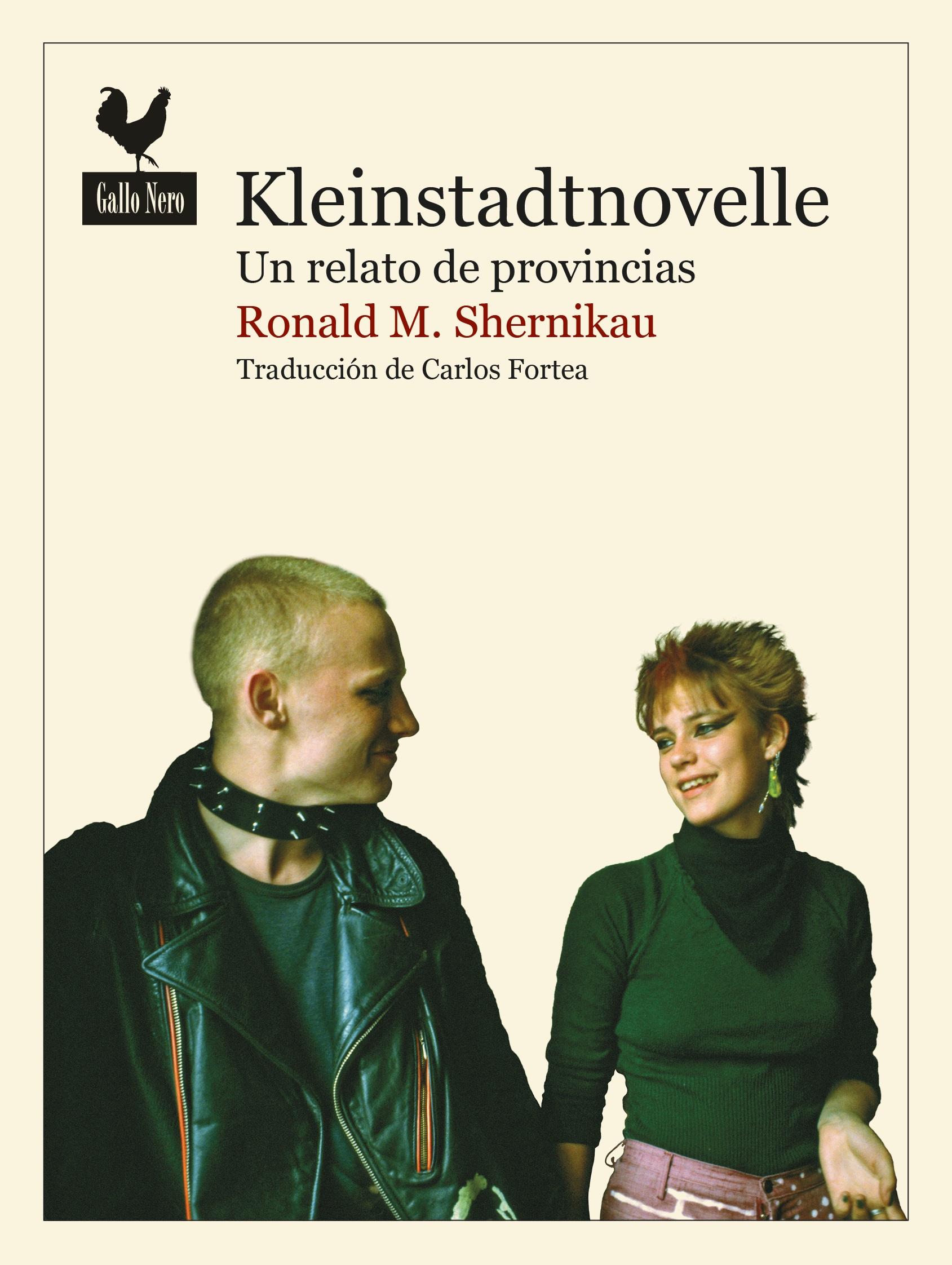 Portada del libro «Kleinstadtnovelle», de Ronald M. Schernikau