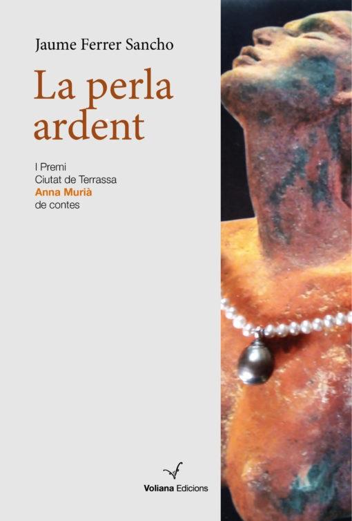 Portada del recull de relats de Jaume Ferrer Sancho, La perla ardent