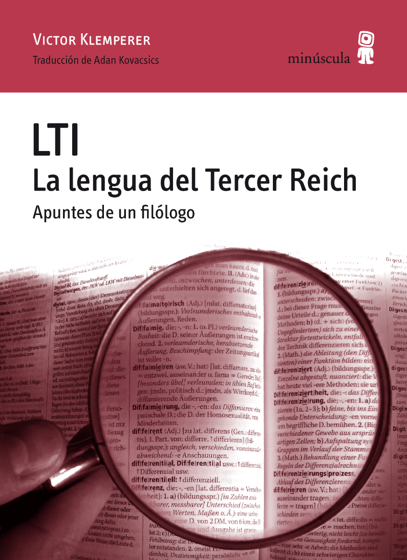 Portada del ensayo de Victor Klemperer, «LTI. La lengua del Tercer Reich. Apuntes de un filólogo»