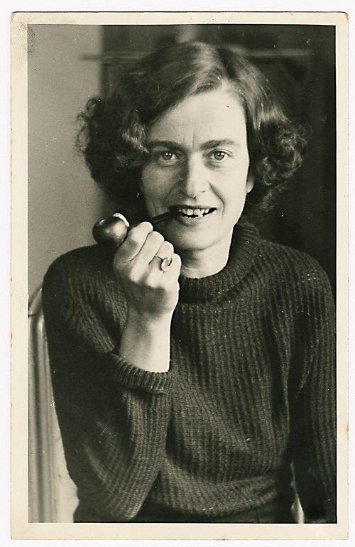 La poeta alemana Marie Louise Kaschnitz