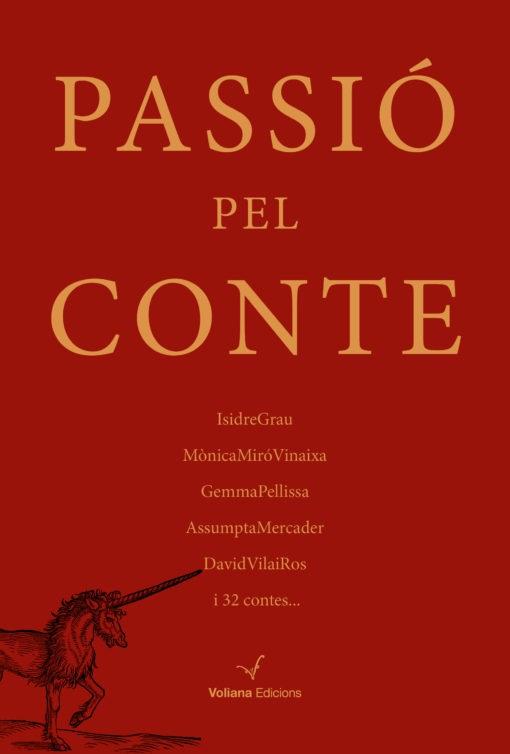 Portada del llibre «Passió pel conte» (Voliana Edicions, 2019)