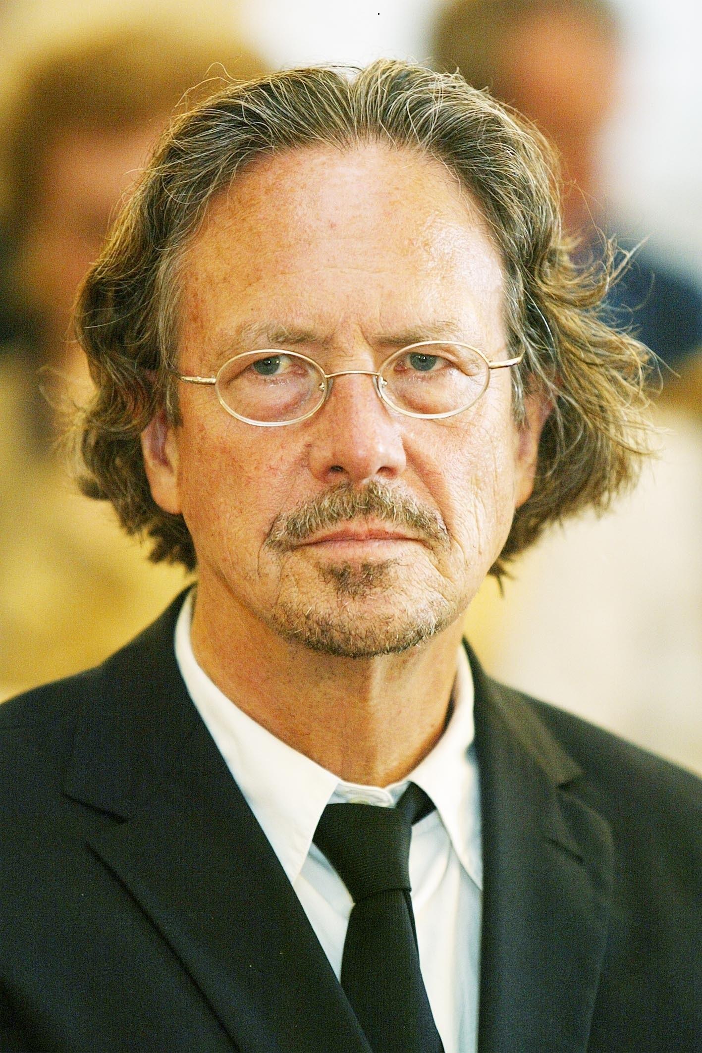 L'escriptor austríac Peter Handke, Premi Nobel de Literatura