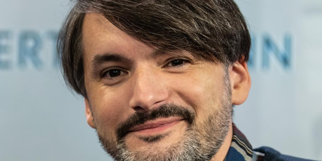 El escritor bosnio-alemán Saša Stanišić