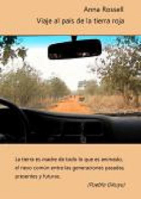 """Portada del libro de viajes """"Viaje al país de la tierra roja"""" (e-pub), de Anna Rossell"""
