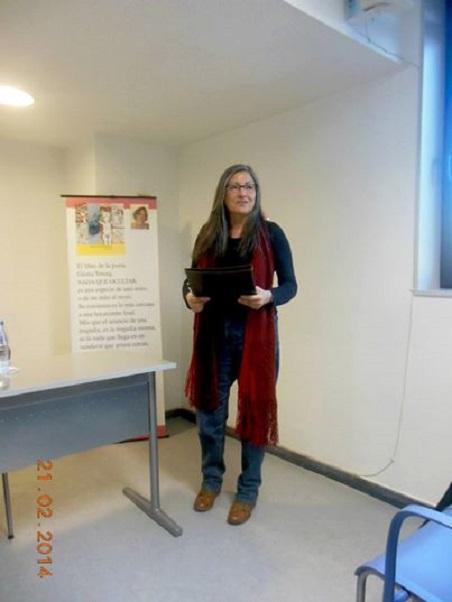 Anna Rossell. Tertulia con Gloria Young. El Laberinto de Ariadna, Ateneo Barcelonés, 2014