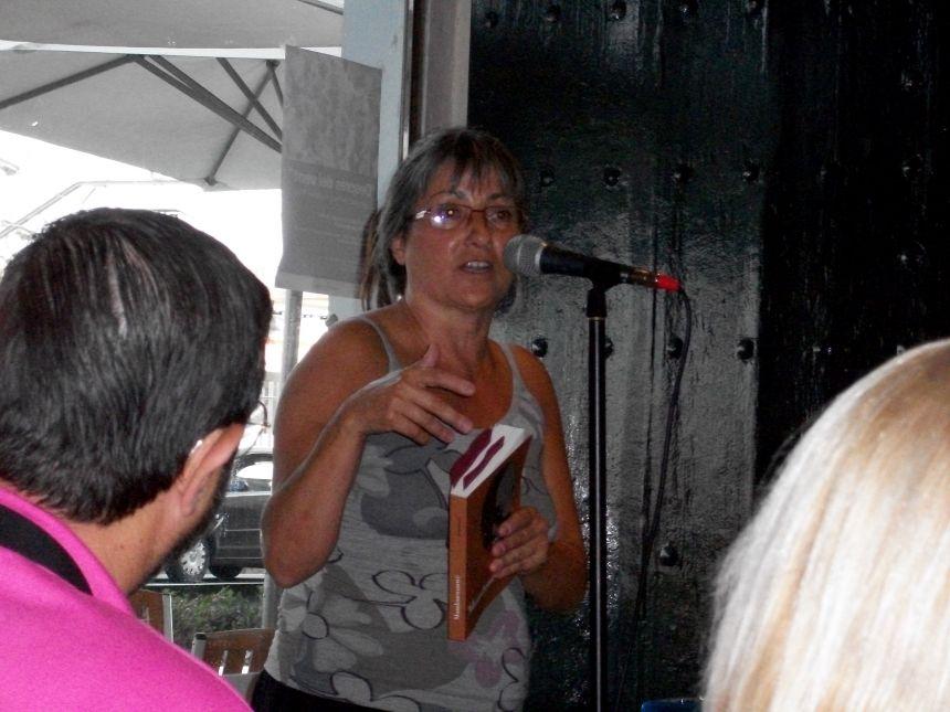 """Anna Rossell, Presentación de su novela """"Mondomwouwé"""" (El Masnou, 2011)"""