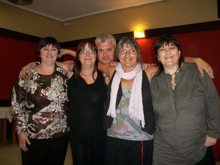 Anna Rossell con amigas poetas IV Encuentro de Poesía en Red (Granada, 2011)