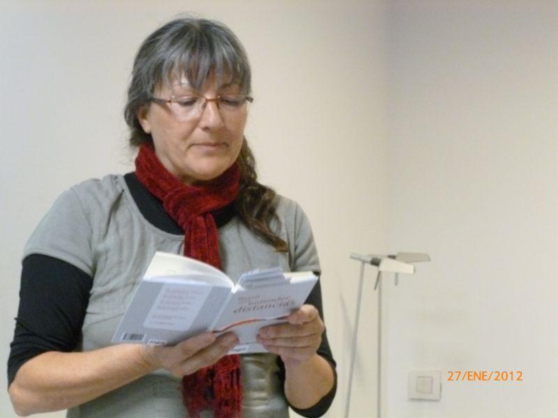 """Anna Rossell. Presentación de """"Manual para entender las distancias"""", de Amelia Díaz Benlliure (El Laberinto de Ariadna, Ateneo Barcelonés, 2012)"""