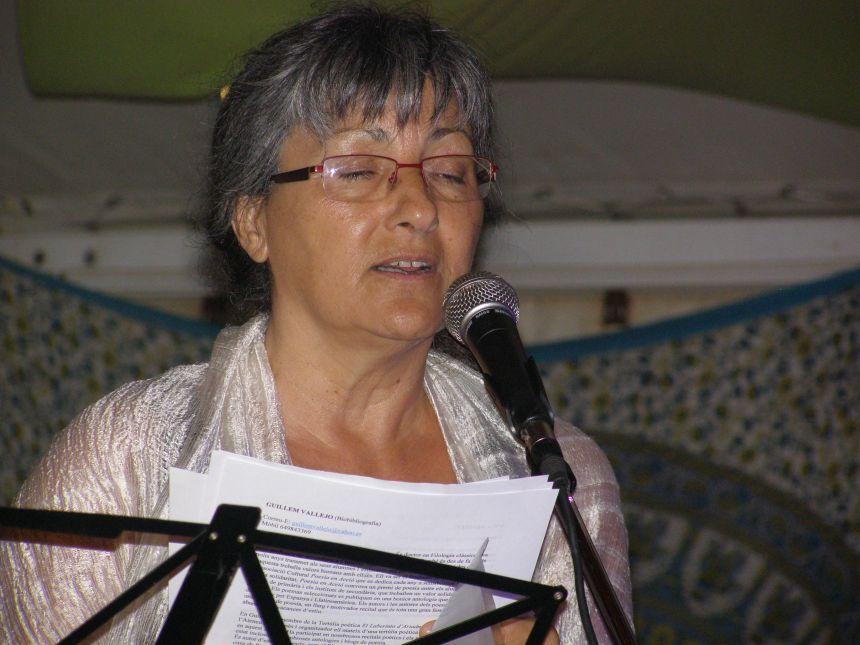 Anna Rossell. Poesía en la Playa, (El Masnou, verano 2012)