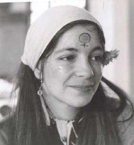 La poeta Mª Mercè Marçal
