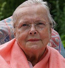 La poeta alemana Eva Strittmatter (1930-2011)