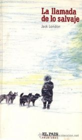 "Portada de la novela ""La llamada de lo salvaje"", de Jack London"
