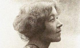 La poeta alemana Ricarda Huch
