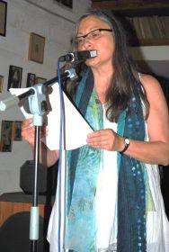 La poeta catalana Anna Rossell