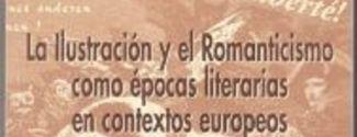 """Portada del libro """"La ilustración y el romanticismo en contextos europeos"""""""
