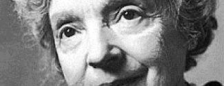 La poeta Nelly Sachs